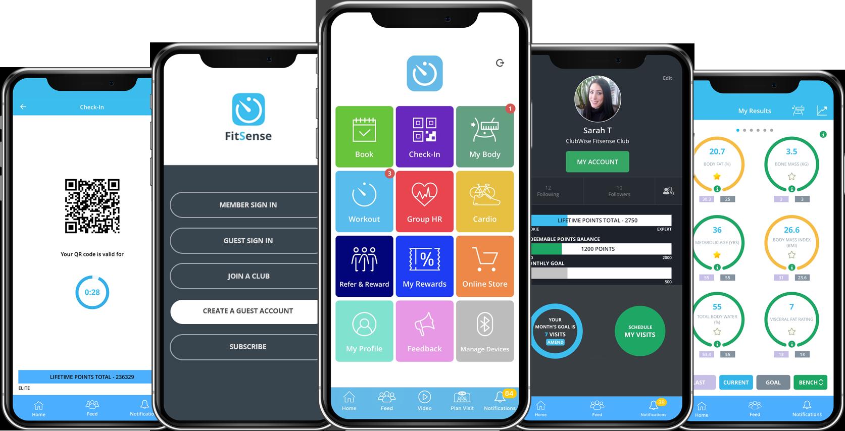 FitSense Member App